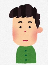 イマイチの表情
